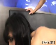 Hot Tranny Savors Sex Delights - scene 3