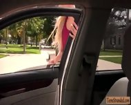 Huge Tits Amateur Blonde Teen Mila Evans Banged In The Car - scene 2