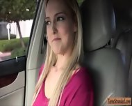 Huge Tits Amateur Blonde Teen Mila Evans Banged In The Car - scene 3