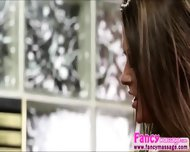 Beautiful Blonde Abby Cross Relieves Amanda Tates Stress Pains - scene 10