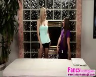 Beautiful Blonde Abby Cross Relieves Amanda Tates Stress Pains - scene 2
