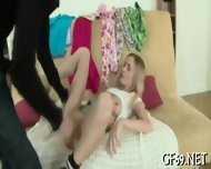Sweet Beauty Playing With Hunks - scene 7