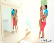 Milf Nailed With Her Stepdaughter And The Nasty Boyfriend - scene 4