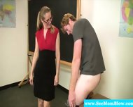 Mature Teacher Blows Her Student - scene 5
