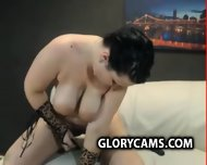 Brunette Chick With Large Hot Webcam Glorycams.com - scene 2