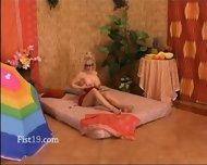 Licking And Deep Fisting Both Vaginas - scene 1