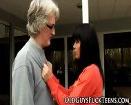 Teen Cunt Eaten By Senior - scene 4