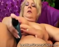 Busty Blonde Cougar Enjoys To Be Touched Everywhere - scene 11
