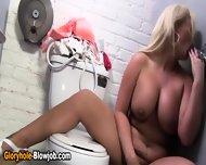 Blonde Ho Gets Cumshot - scene 3
