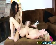 Teen Lez Step Sis Finger - scene 8