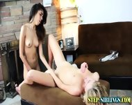 Teen Lez Step Sis Finger - scene 12