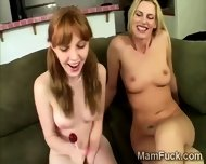 Milf And Daughter Share Their Hot Bodies With The Camera - scene 9