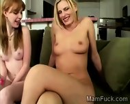 Milf And Daughter Share Their Hot Bodies With The Camera - scene 10