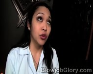 Oriental Slut Teases The Priest During Her Confession - scene 2