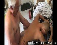 Euro Teen Tugs Old Cock - scene 10
