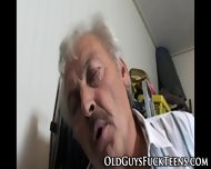 Euro Teen Tugs Old Cock - scene 7