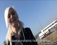 Pretty Blonde Skating Girl Railed In The Ass For Money - scene 1