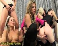 Glam Urinating Lesbians - scene 6