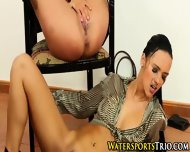 Piss Drenched Lesbians - scene 9
