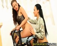 Piss Drenched Lesbians - scene 7