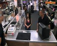 Pervert Pawnkeeper Fucking A Hot Cuban Honey In The Pawnshop - scene 2