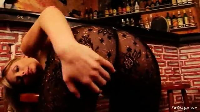 Gina naked in the Bar 2