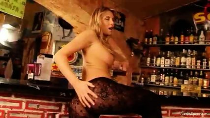 Gina naked in the Bar 2 - scene 7