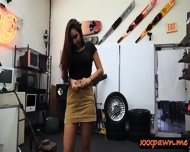 Amateur Big Tits Slut Gets Banged Hard In The Pawnshop - scene 6