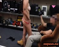 Amateur Big Tits Slut Gets Banged Hard In The Pawnshop - scene 7