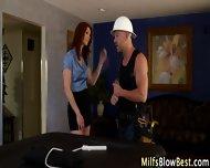 Redhead Wam Milf Swallows - scene 1
