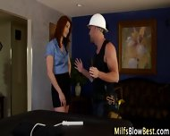 Redhead Wam Milf Swallows - scene 2