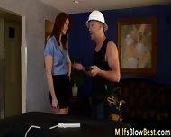 Redhead Wam Milf Swallows - scene 3