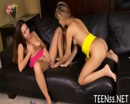 Teen Sucker Challenges A Cock - scene 12