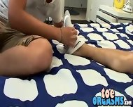 Licking And Sucking His Big Smooth Feet And Tasty Toes - scene 3