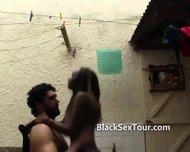 European In Africa Fucking The Maid - scene 2