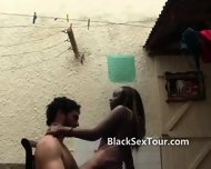European In Africa Fucking The Maid - scene 4