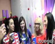 Explosive And Wild Dorm Party - scene 5