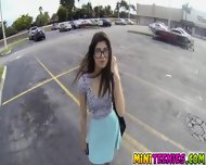 Ava Taylor Sucked A Cock At The Parking Lot - scene 1