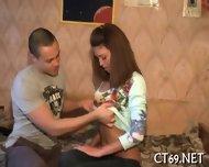 Teen Babe Pleases Her Stud - scene 6