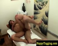 Big Titted Asian Masseuse Fucks Client - scene 11