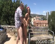 Outdoor Fucking Of Sexy Cutie - scene 8
