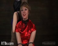 Rod Torture For Beauty S Cunt - scene 2