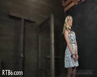 Hung Up Babe Is Punished - scene 4