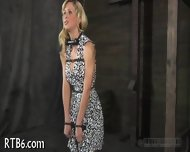 Hung Up Babe Is Punished - scene 7