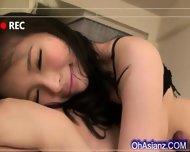 Perky Little Asian Girl Sucking Fat Cock - scene 12