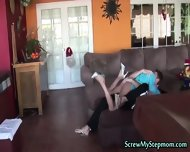 A Training Of Love From His Step Mom - scene 5