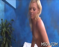 Babe Fucked On A Massage Table - scene 1