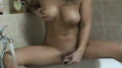 Masturbating in the Bath - scene 11