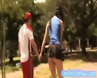 Seductive Hot Mini Skirt Chick Jules - scene 4