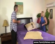 Blonde Daughter Sucks Older Guy S Cock In Family Sex - scene 3